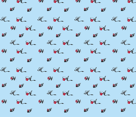 Hawaii2-ch fabric by twoboos on Spoonflower - custom fabric