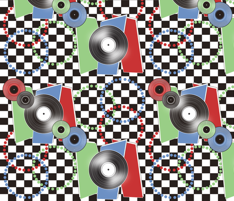 Nifty_Fifties fabric by art_is_hard on Spoonflower - custom fabric