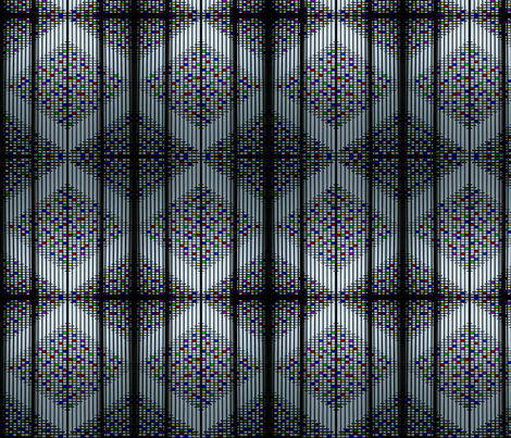 Japanese Window fabric by siya on Spoonflower - custom fabric