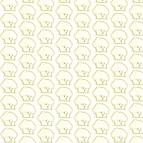 Happy Muffin fabric by siya on Spoonflower - custom fabric
