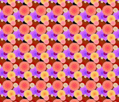 Pencil Suns fabric by siya on Spoonflower - custom fabric