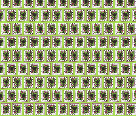 Club Scribble Green fabric by siya on Spoonflower - custom fabric