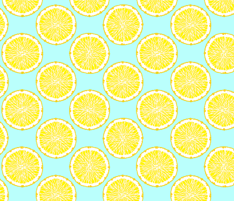 Citrus 2 fabric by jadegordon on Spoonflower - custom fabric