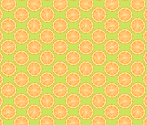Citrus 1 fabric by jadegordon on Spoonflower - custom fabric