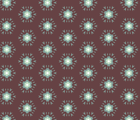 Aquabrown fabric by captiveinflorida on Spoonflower - custom fabric