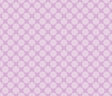 Circus Polk- Lavender fabric by mayabella on Spoonflower - custom fabric