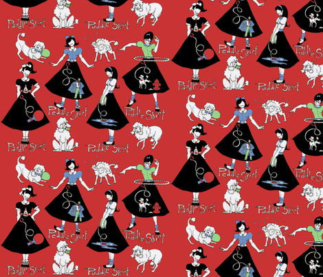 The Rejects fabric by ceanirminger on Spoonflower - custom fabric