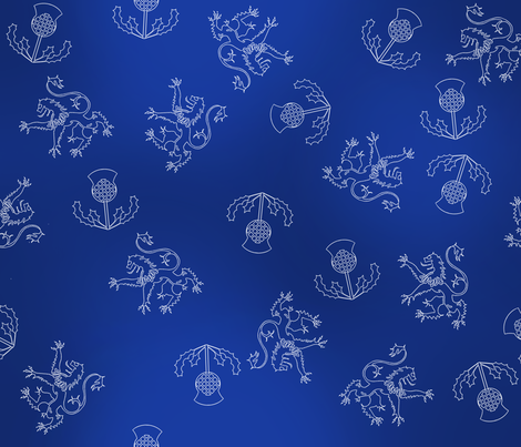 Scottish_Dream fabric by jumping_monkeys on Spoonflower - custom fabric