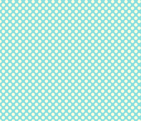 cotton candy dot fabric by bellamarie on Spoonflower - custom fabric