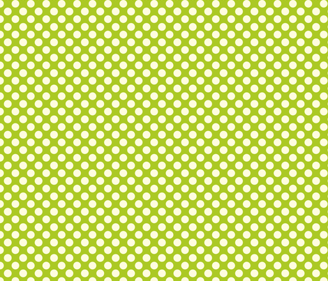 lime snow cone dot fabric by bellamarie on Spoonflower - custom fabric