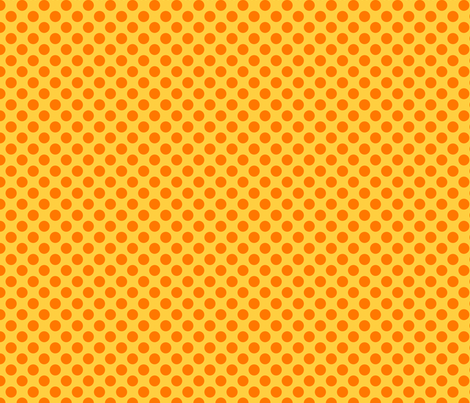 warmdot fabric by bellamarie on Spoonflower - custom fabric