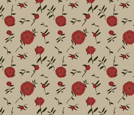 Corrida de Toros fabric by pancakes_for_dinner on Spoonflower - custom fabric