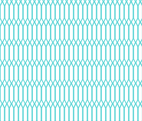 Lattice fabric by daynagedney on Spoonflower - custom fabric