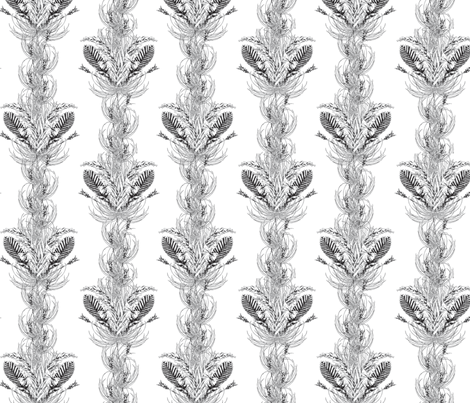 Bromeliad fabric by daynagedney on Spoonflower - custom fabric