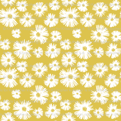 Paper Daisy - Provence Gold