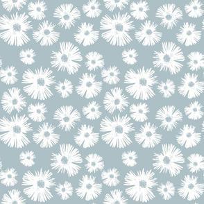 Paper Daisy - Provence Blue