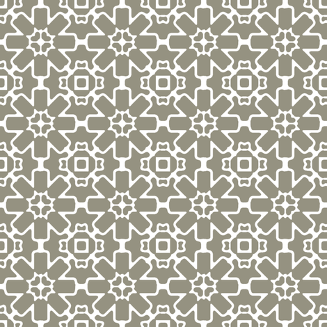 Sage Berry Star fabric by kristopherk on Spoonflower - custom fabric