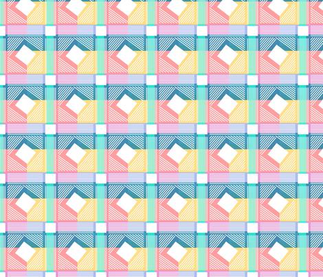 crosshatch fabric by daynagedney on Spoonflower - custom fabric