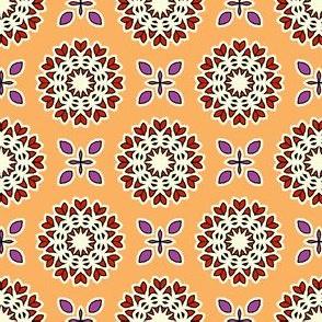 Full Bloom - Polly Orange