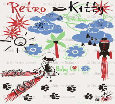 Retro Kitty / FAT 1/4