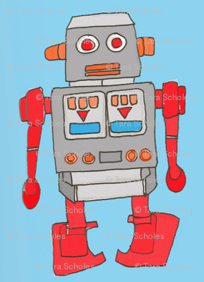 Roger the Red Robot