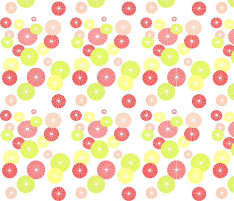 Umbrella Tops fabric by asset68 on Spoonflower - custom fabric