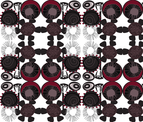 mixedberry fabric by sbd on Spoonflower - custom fabric