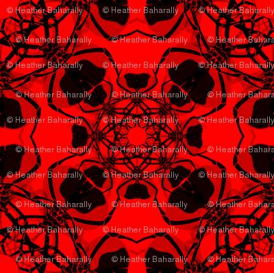 Fractal Red Spider
