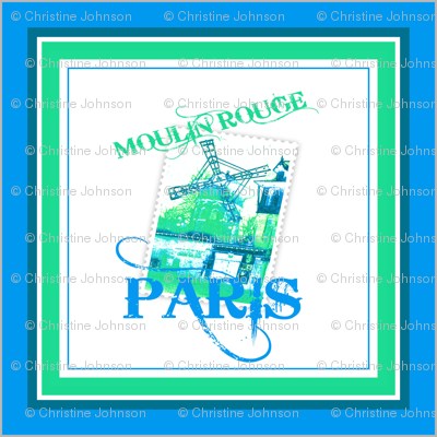 "26"" MOULIN ROUGE PARIS"