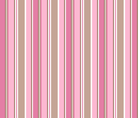 Candy cane fabric by delsie on Spoonflower - custom fabric