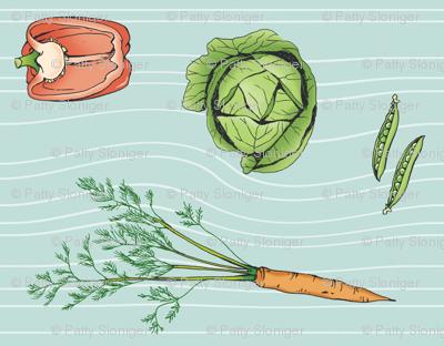 Vintage Vegetables!
