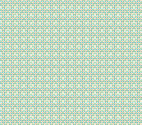 sweet little circle flowers fabric by babysisterrae on Spoonflower - custom fabric