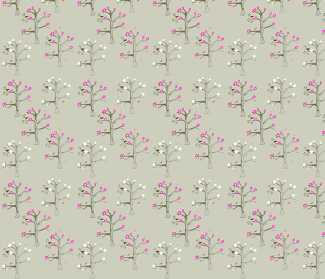 Blosoom_trees fabric by 5u5an on Spoonflower - custom fabric