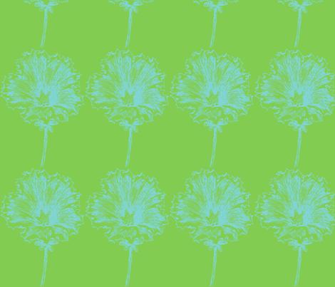 blue petunia fabric by harry on Spoonflower - custom fabric