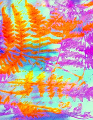 Red Fern Aztec rad plaid