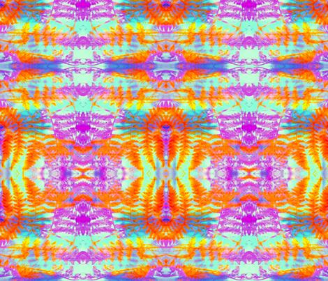 Red Fern Aztec rad plaid fabric by jan4insight on Spoonflower - custom fabric
