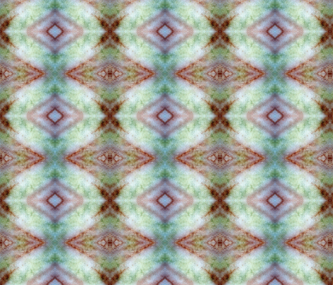 Green Glow aztec rad plaid fabric by jan4insight on Spoonflower - custom fabric