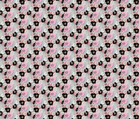 Ballet School Flowers fabric by jan4insight on Spoonflower - custom fabric