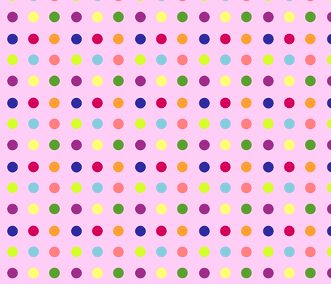 dotty fabric by rose'n'thorn on Spoonflower - custom fabric