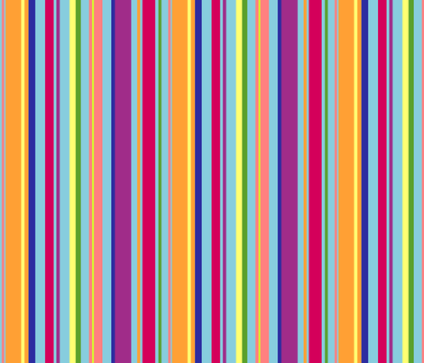 stripey fabric by rose'n'thorn on Spoonflower - custom fabric