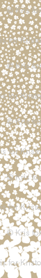 Magnolia Little Gem - Creme Caramel - 3 Yard Panel