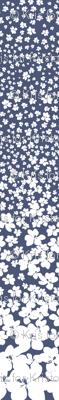 Magnolia Little Gem - China Blue - 3 Yard Panel