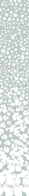 Magnolia Little Gem - Arctic - 3 Yard Panel