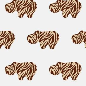 Animal Print Hippo