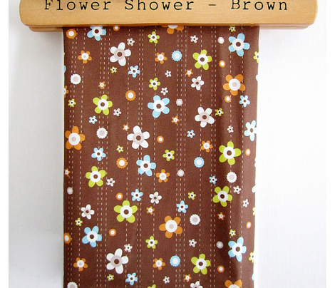 Flower Shower Brown