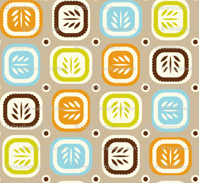 Leaf Line Tan