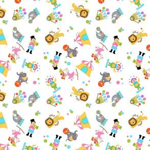 Circus Fun fabric