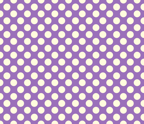 Grape Soda dot fabric by bellamarie on Spoonflower - custom fabric