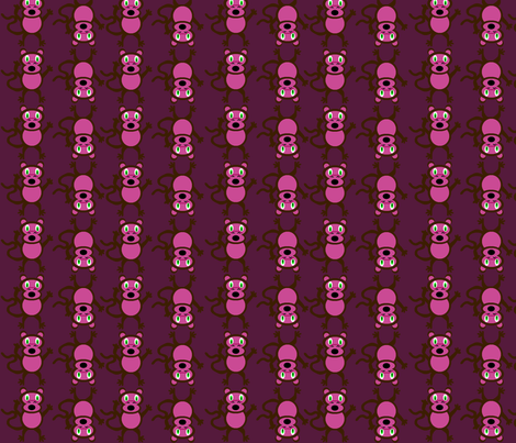 Crazy Monkeys fabric by lyndsey2360 on Spoonflower - custom fabric