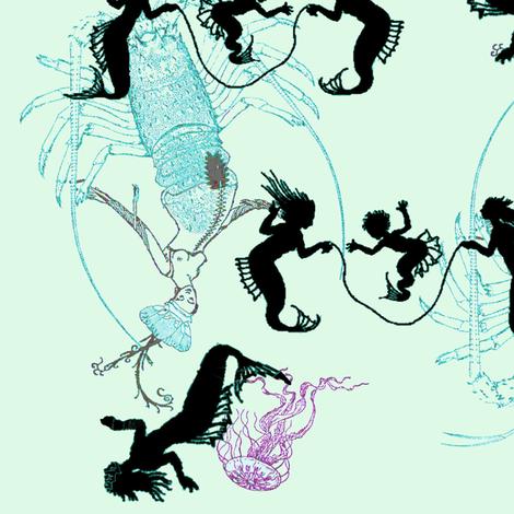 Frolic fabric by nalo_hopkinson on Spoonflower - custom fabric